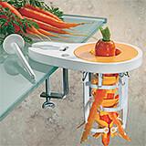 """Plastic Carrot Peeler, 5"""""""