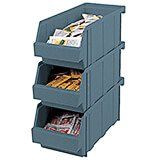 Slate Blue, Condiment Holder Bins, No Rack, 12/PK