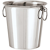 Stainless Steel Wine Bucket, 1 Bottle, 7.88""