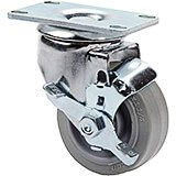 "1-3"" Swivel w/Brake Caster, 4-Bolts (60300)"