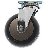 "1-5"" Swivel Caster, 4-Bolts (60300)"