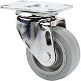 "1-Front 3"" Swivel Caster, 4- Screws (45516)"