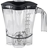 Clear, 48 Oz. Polycarbonate Blender Jar for HBH650 & HBH850 Series