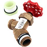 1-Threaded Faucet Drain, 1- O Ring, Bushing