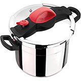 Stainless Steel SitraPro Pressure Cooker, 8.45 Qt