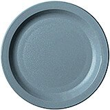 "Slate Blue, 7-1/4"" Narrow Rim Plate, Unbreakable Dinnerware, 48/PK"