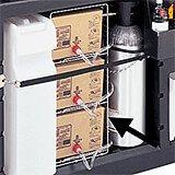 Set Of 2 Metal Racks for Bag-In-Box 730 Portable Bars