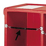 Retainer Strap for Cambro Bars, 2/PK