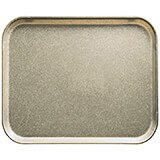 "Desert Tan, 8"" x 10"" Food Trays, Fiberglass, 12/PK"