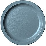 "Slate Blue, 8-1/4"" Narrow Rim Plate, Unbreakable Dinnerware, 48/PK"