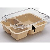 Meal Delivery Polycarbonate Trays