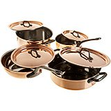 Copper, Cookware Set, 8 Piece