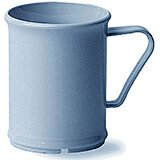 Slate Blue, 9.6 Oz. Unbreakable Coffee Mugs, 48/PK