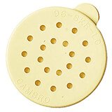 Yellow, Replacement Lids, Cheese, 12/PK