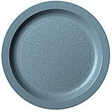 "Slate Blue, 9"" Narrow Rim Plate, Unbreakable Dinnerware, 48/PK"