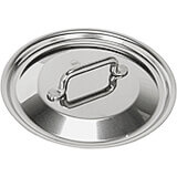 """Stainless Steel, 18/10 Steel Lid For Catering Cookware, Dim: 6.29"""""""