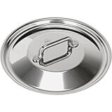 """Stainless Steel, 18/10 Steel Lid For Catering Cookware, Dim: 7.08"""""""