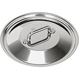 """Stainless Steel, 18/10 Steel Lid For Catering Cookware, Dim: 7.87"""""""