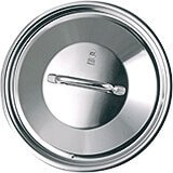 """Stainless Steel, 18/10 Steel Lid For Catering Cookware, Dim: 11.02"""""""