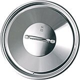 Stainless Steel, 18/10 Steel Lid For Catering Cookware, Dim: 15.74""