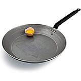 "Carbon Steel Frying Pan, 17.75"""