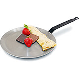 Carbon Steel Crepe Pan, Polished 10.25""