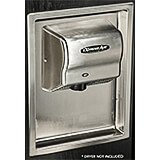 Stainless Steel, Recess Kit For ExtremeAir And Global Hand Dryers