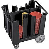 Black, Adjustable Dish Caddy