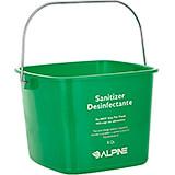 Green, Polyethylene 8 Qt. Cleaning Bucket / Pail