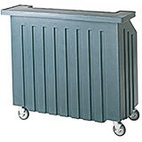 Slate Blue, Small Portable Bar, Indoor / Outdoor Bar