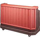 Brown Mahogany, Portable Bar with Sealed-In Cold Plate