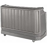Granite Gray, Mid-size Portable Bar with Sealed-In Cold Plate