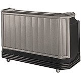 Granite Gray And Black, Mid-size Portable Bar with Sealed-In Cold Plate