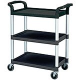 Black, Utility / Service Cart, Knocked Down
