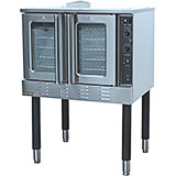 Stainless Steel Full Size Gas Convection Oven, Single Deck, Double Door