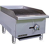 "Stainless Steel 16"" Countertop Char Broil Gas Grill, 30,000 Total BTU"