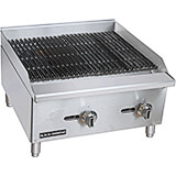 "Stainless Steel 24"" Countertop Char Broil Gas Grill, 60,000 Total BTU"