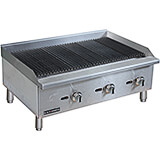 "Stainless Steel 36"" Countertop Char Broil Gas Grill, 90,000 Total BTU"