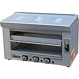 Stainless Steel Gas Salamander Broiler / Grill, 36,000 Total BTU