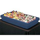 Navy Blue, Large Table Top Buffet Bar Base