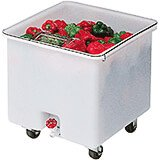 White, Camcrisper Bulk Produce Bin, 32 Gallon Capacity