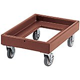 "Dark Brown, 19-5/8"" x 28-5/8"" Dolly, 300 Lb Capacity"