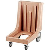 "Coffee Beige, 23-1/2"" x 29-7/8"" Dolly, Molded Handles, 350 Lb Capacity"
