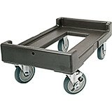 "Dark Brown, 16-7/16"" x 24-3/8"" Dolly, 300 Lb Capacity"
