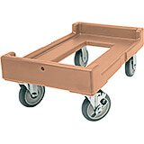 "Coffee Beige, 16-7/16"" x 24-3/8"" Dolly, 300 Lb Capacity"