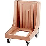 "Coffee Beige, 27-1/2"" x 34-7/8"" Dolly, Molded Handles, 350 Lb Capacity"
