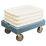 "Slate Blue, 19-7/8"" x 27-7/8"" Dolly, 300 Lb Capacity"