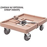 "Coffee Beige, 20-3/4"" x 27-5/8"" Dolly, 300 Lb Capacity"