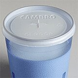 Translucent, Disposable Lid Fits 9.7 oz. Colorware Tumbler, 1000/PK