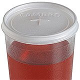 Translucent, Disposable Lid Fits 9.8 oz. Colorware Tumbler, 1000/PK